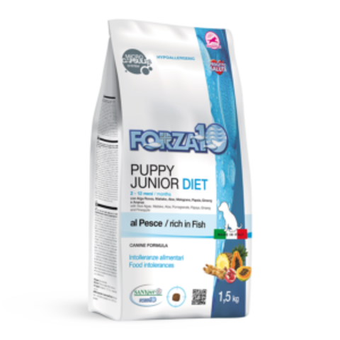 Forza10 Puppy junior Diet Pesce