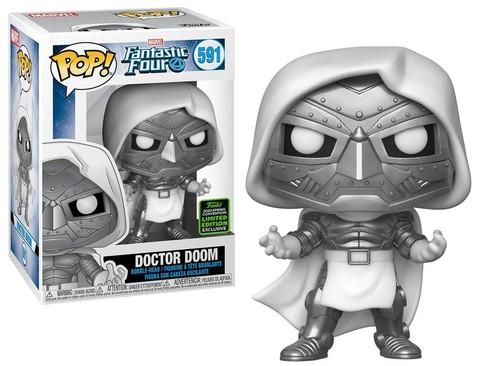 Doctor Doom (Fantastic Four) Funko Pop! Bobble    Доктор Дум : ECCC (Exc)