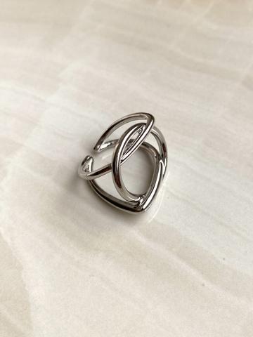 Кольцо Энтререра, серебряный цвет