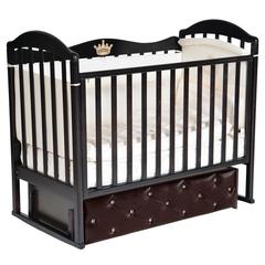 Кроватка детская Антел Анита-9 с мягким фасадом