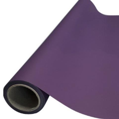 Пленка матовая (размер:65см х 10м), цвет: темно-фиолетовый