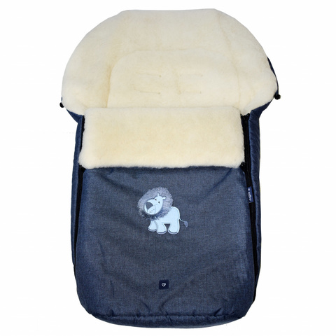 №S77 Exlusive Lion  melange fabric (гранатовый)