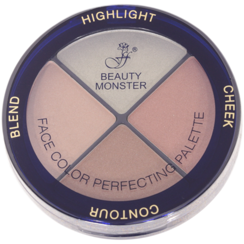 Ffleur Средство FC 53 для макияжа 4в1 тон 003  BEAUTY MONSTER