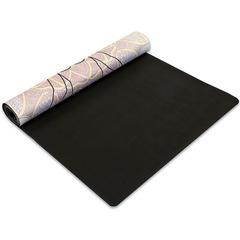 Коврик для йоги Замшевый каучуковый двухслойный 3мм