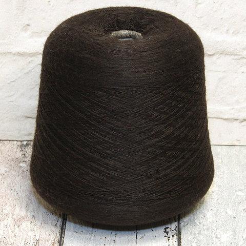 Меринос экстрафайн 2/30 темно-коричневый