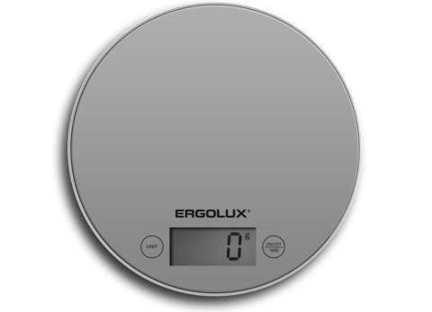 Весы кухонные Ergolux ELX-SK03-С03 серый