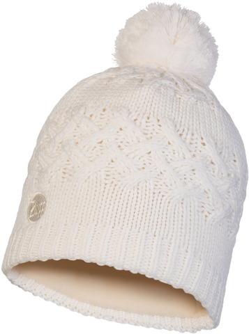 Шапка вязаная с флисом Buff Hat Knitted Polar Savva White фото 1