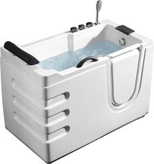 Акриловая ванна ABBER AB9000 C R 130х70 см с дверцей