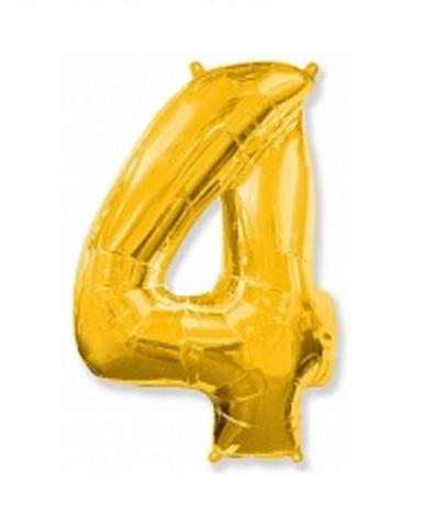 Цифра четыре - золото