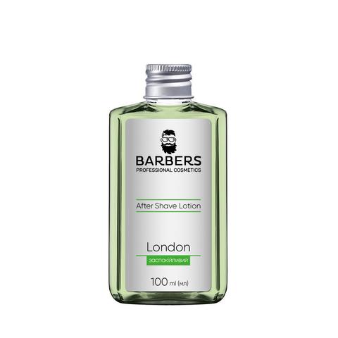 Заспокійливий лосьйон після гоління Barbers London 100 мл (1)