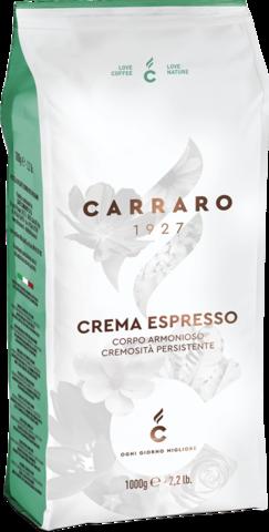 Кофе в зернах Carraro Crema Espresso 1 кг