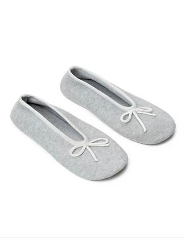 Женские носки серого цвета из вискозы - фото 2