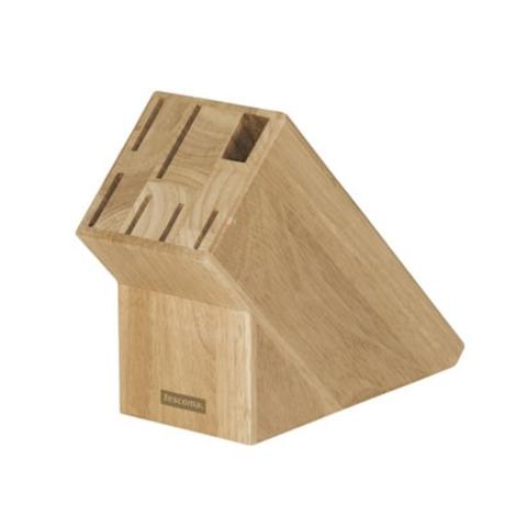 Блок для 6-ти ножей и ножниц Tescoma WOODY