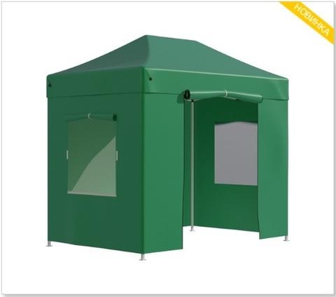 Тент-шатер быстросборный Helex 3х2х3м полиэстер зеленый