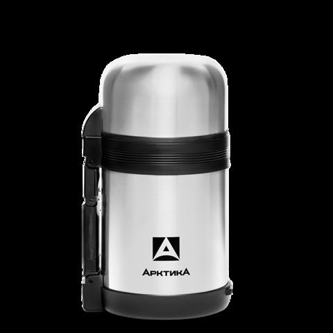 Термос универсальный для еды и напитков Арктика (201-800) 0,8 литра с широким горлом, стальной
