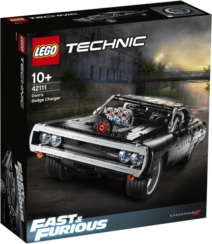 LEGO Technic: Dodge Charger Доминика Торетто 42111 — Fast & Furious Dom's Dodge Charger — Лего Техник