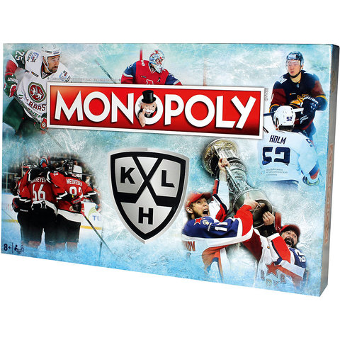 Hasbro: Игра настольная дорожная Монополия KHL WM00013-RUS —  Monopoly KHL — Хасбро