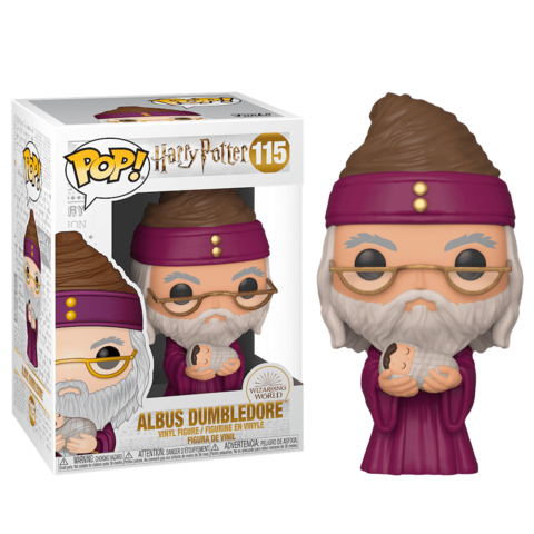Albus Dumbledore with Baby Harry (Harry Potter:Holiday) Funko Pop! Vinyl Figure || Альбус Дамблдор
