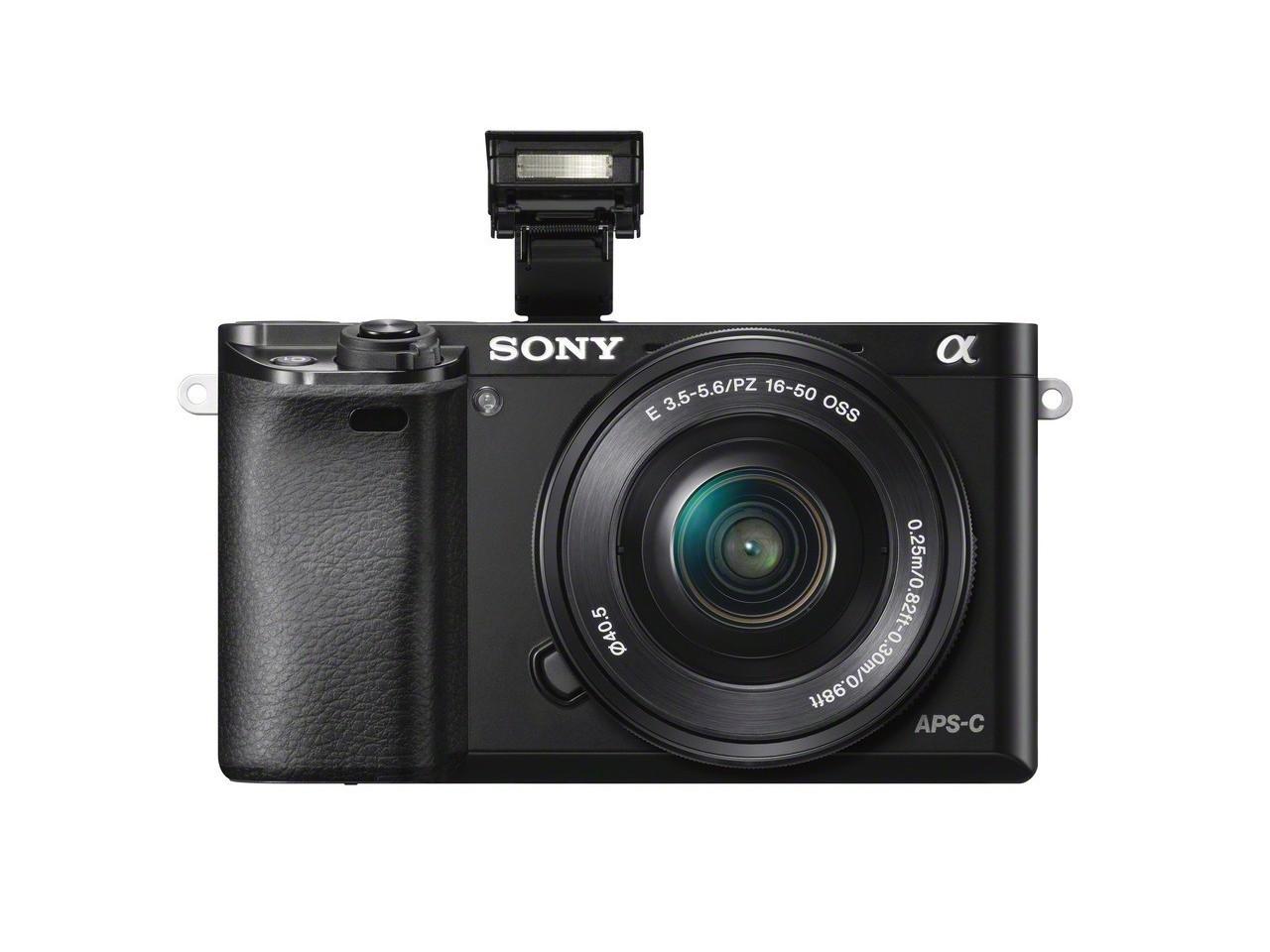 Купить ILCE-6000LB чёрного цвета в интернет-магазине Sony Centre
