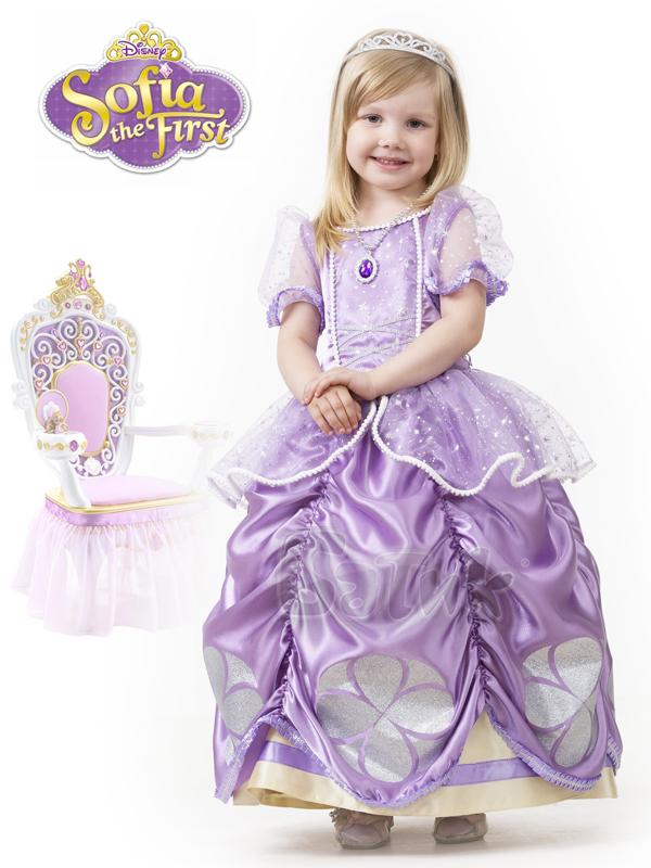Карнавальный костюм детский Принцесса София