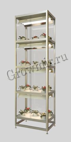 Стеллаж для растений с подсветкой (КЛЛ светильники по 110 W)