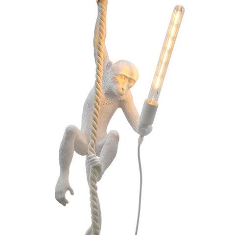 Подвесной светильник копия MONKEY by Seletti (белый)