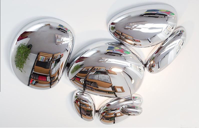 Потолочный светильник копия Skydro by Artemide (5 плафонов)