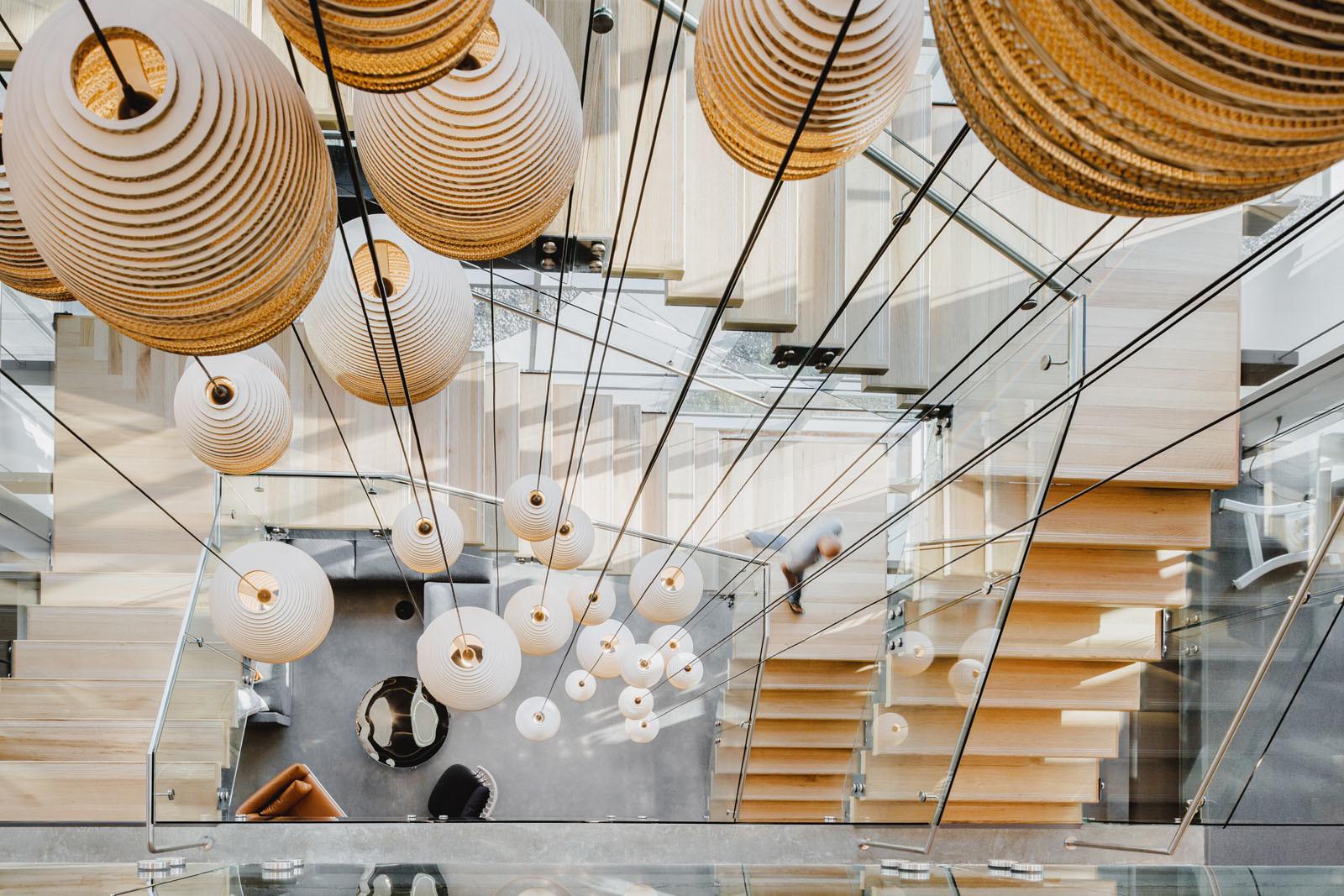 Подвесной светильник Dome Scraplight by Graypants D31
