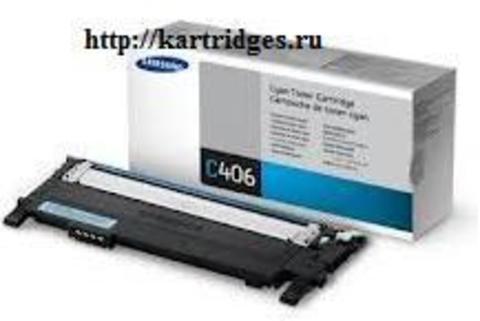 Картридж Samsung CLT-C406S / SEE
