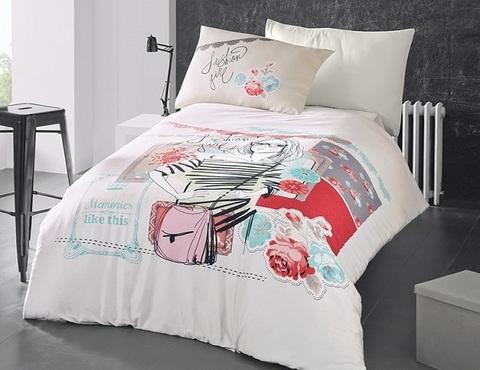 Комплект постельного белья DO&CO RANFORCE 1,5 спальный ELODIA