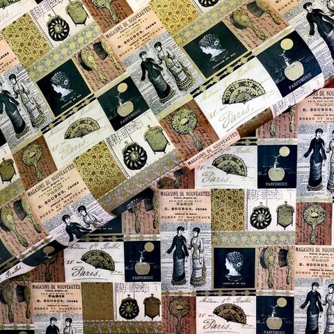 Бумага подарочная декоративная Дамское счастье
