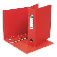 Папка на 4-х кольцах Bantex 60 мм красная до 350 листов