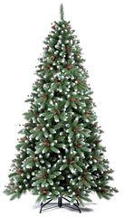Ель Royal Christmas Seattle Premium 240 см с шишками и ягодами заснеженная