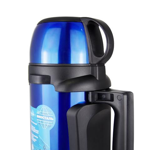 Термос универсальный (для еды и напитков) Biostal Авто (1,7 литра), синий