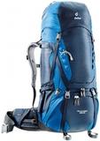 Картинка рюкзак туристический Deuter Aircontact 65+10 Midnight-Ocean -