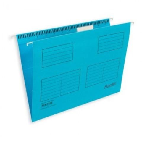 Подвесная регистратура папка BANTEX голубая размер Foolscap 25 шт. Дания 10