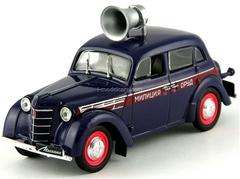 Moskvich-400-420 ORUD Police USSR 1:43 DeAgostini Service Vehicle #6