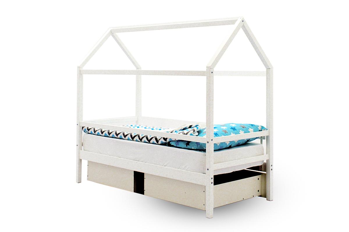 Кровать-домик «Svogen белый»