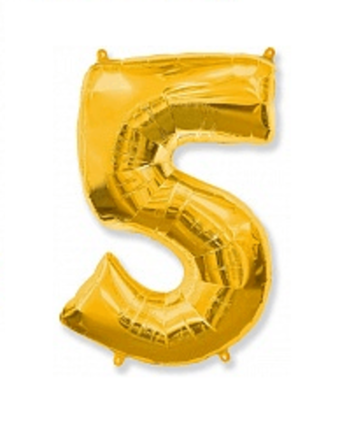 Цифра пять - золото