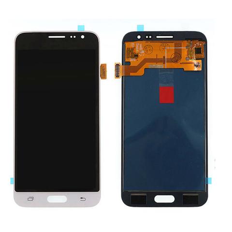 LCD SAMSUNG J3 (2016) J320 + Touch White OLED MOQ:5