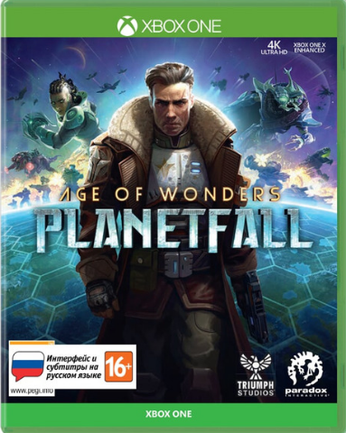 Age of Wonders: Planetfall (Xbox One/Series X, русские субтитры)