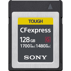 Карта памяти Sony Cfexpress B спец. 128GB TOUGH 1700/1480MB/s
