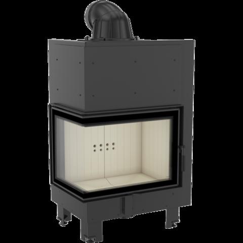 Каминная топка Kratki MBZ/L/BS/SG (гнутое стекло) (13 кВт)