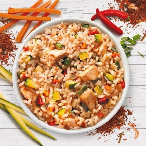 Фотография Курица с рисом по-тайски / 350 мл купить в магазине Афлора