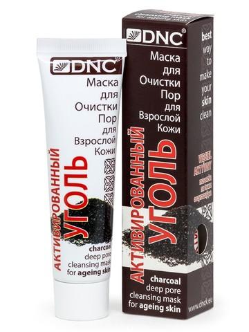 DNC Активированный Уголь–Маска для очистки пор для взрослой кожи 50мл