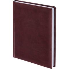 Ежедневник недатированный Attache Вива искусственная кожа А5 176 листов бордовый (148x218 мм)