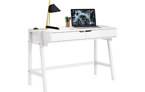 Стол письменный Polini kids Mirum 1440 низкий, белый