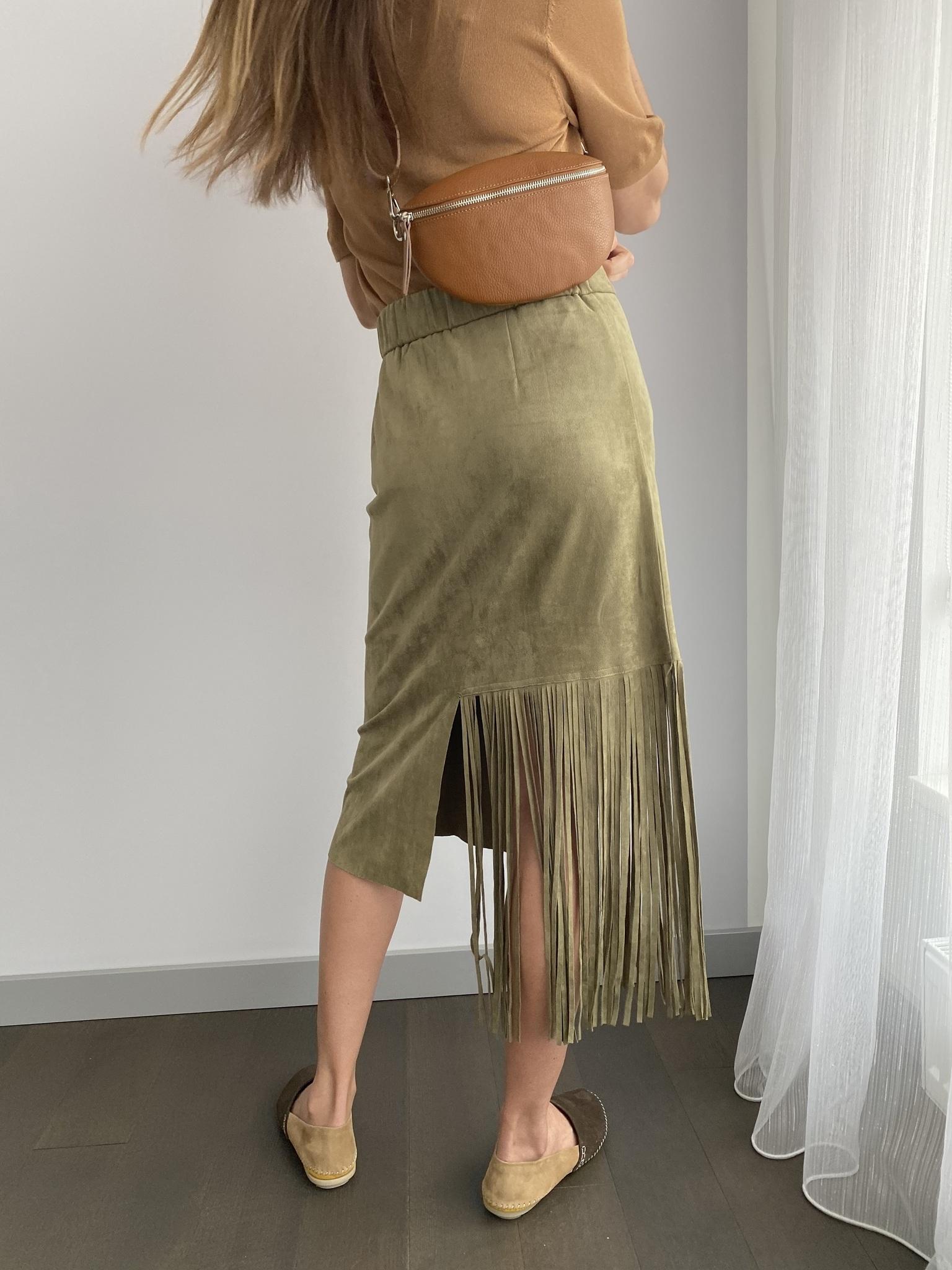 Юбка, Ballerina, ZA1230 (хаки)