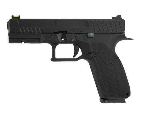 Страйкбольный пистолет CZ KP-13C, грин-газ, черный (KJW)