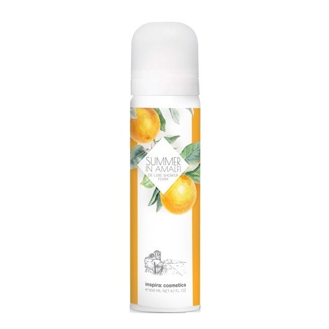 INSPIRA Summer In Amalfi: Роскошная пена для душа (De Luxe Shower Foam), 200мл